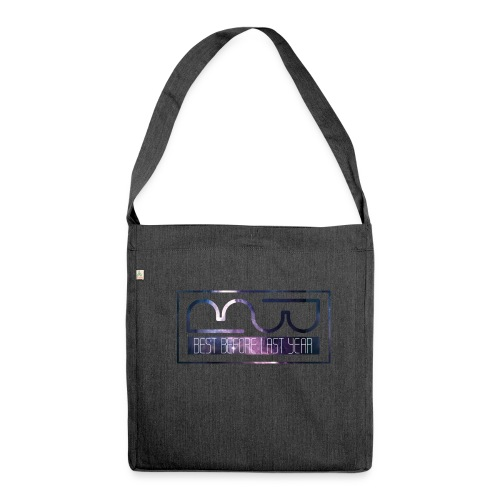 Cap logo Purple - Shoulder Bag made from recycled material