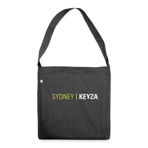 Sydney Logo - Schultertasche aus Recycling-Material