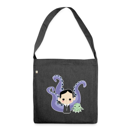 Lovecraft and Cthulhu - Borsa in materiale riciclato