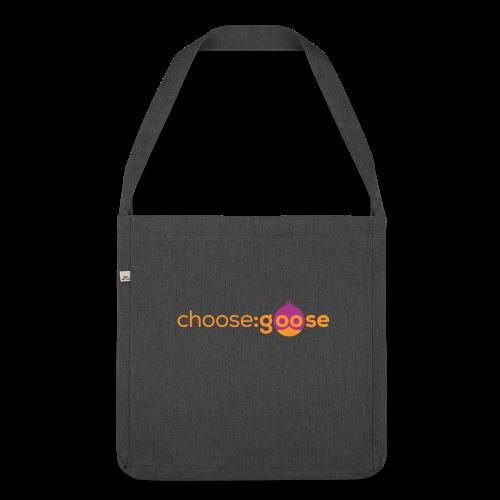 choosegoose #01 - Schultertasche aus Recycling-Material