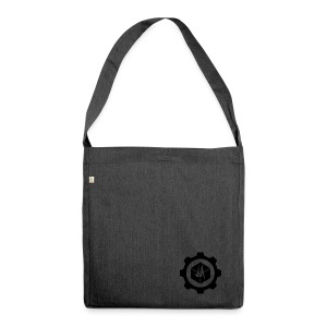 Jebus Adventures Logo (Transparent) - Shoulder Bag made from recycled material
