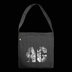 AG logo - Shoulder Bag made from recycled material
