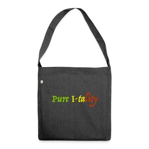 Pure I-tality - Shoulder Bag made from recycled material