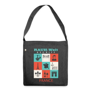 Rauh Welt France color - Sac bandoulière 100 % recyclé
