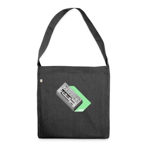 303 Love Green #TTNM - Shoulder Bag made from recycled material