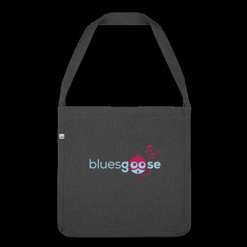bluesgoose #01 - Schultertasche aus Recycling-Material
