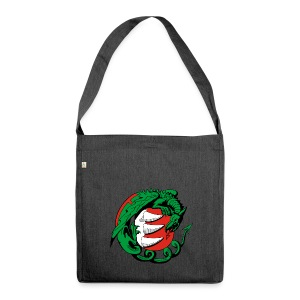 Hungary Dragon - Shoulder Bag made from recycled material