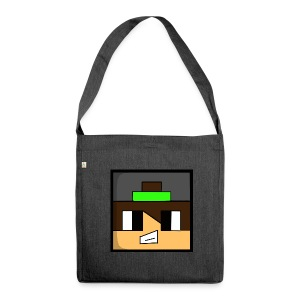 Skin Cartoon ETTOREMINECRAFT - Shoulder Bag made from recycled material