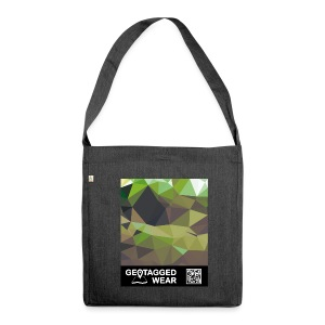 Camouflage Woodland II - Muskoka Collection 1708 - Schultertasche aus Recycling-Material