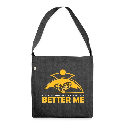 Better Me - Shoulder Bag made from recycled material