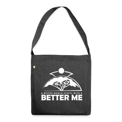 Better Me - White - Shoulder Bag made from recycled material