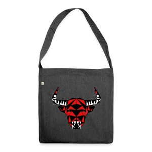 Angry Bull - Schultertasche aus Recycling-Material