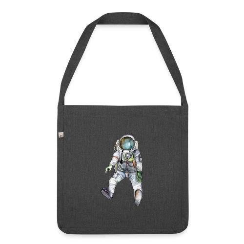 Astronaut Shirt - Schultertasche aus Recycling-Material