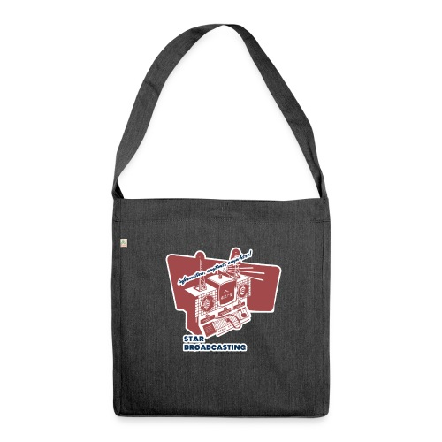 numbers stations hi - Shoulder Bag made from recycled material