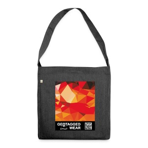 Camouflage Orange Blast – Muskoka Collection 1708 - Schultertasche aus Recycling-Material