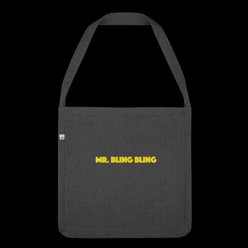 bling bling - Schultertasche aus Recycling-Material