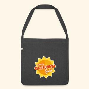 California Spirit Radioshow - Sac bandoulière 100 % recyclé