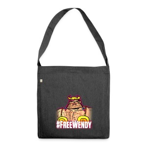 #FreeWendy - Shoulder Bag made from recycled material