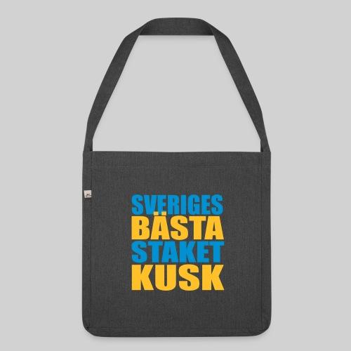 Sveriges bästa staketkusk! - Axelväska av återvinningsmaterial