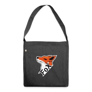 FoX Black&White Edition - Schultertasche aus Recycling-Material