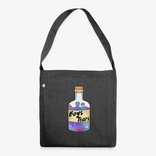 Boys Tears - Schultertasche aus Recycling-Material
