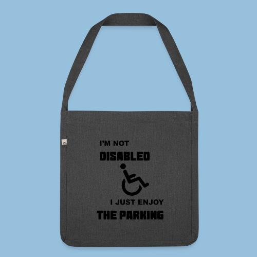 notdisabled1 - Schoudertas van gerecycled materiaal