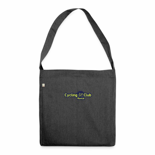 Cycling Club Rontal - Schultertasche aus Recycling-Material