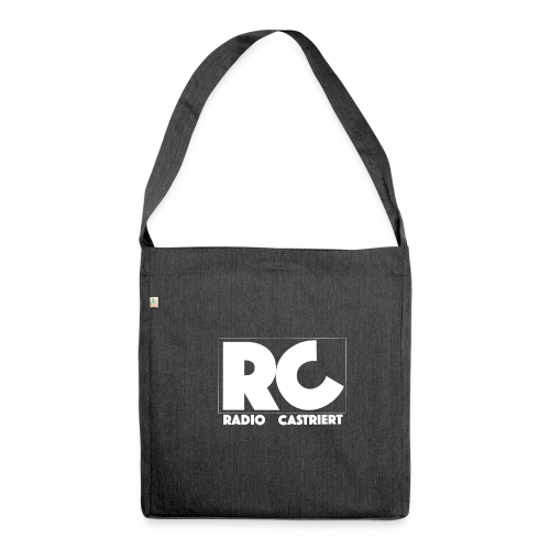 Radio CASTriert Logo 2017/2018 - Schultertasche aus Recycling-Material