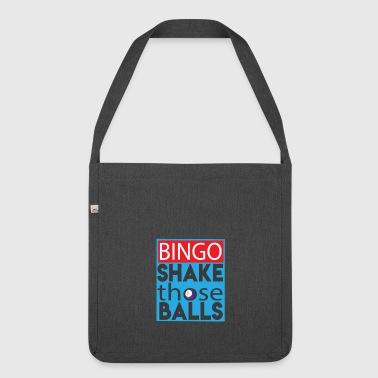 Secouez Those Funny Ball Bingo amant T-shirt - Sac bandoulière 100 % recyclé