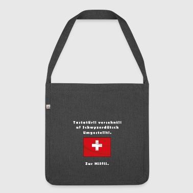 alemán de suiza - Bandolera de material reciclado