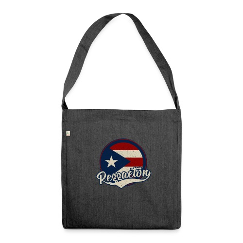 Reggaeton Music - Puerto Rico - Schultertasche aus Recycling-Material