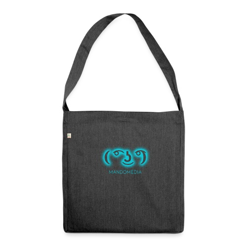 glowing Lennyface - Schultertasche aus Recycling-Material