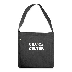 Craic and Cultúr - - Shoulder Bag made from recycled material