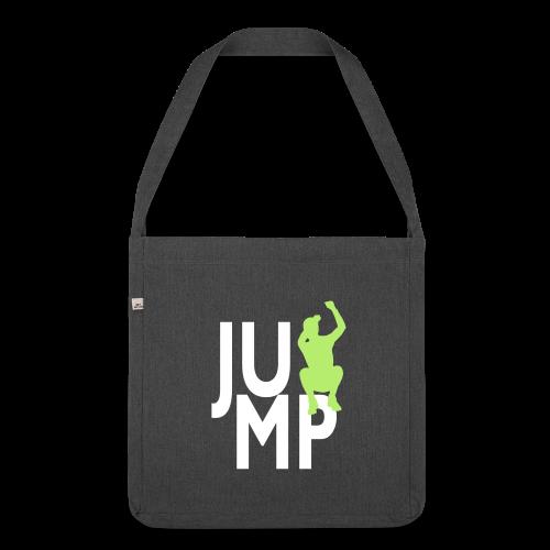 JUMP - Schultertasche aus Recycling-Material