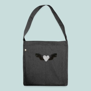 'Bling angel' - Shoulder Bag made from recycled material