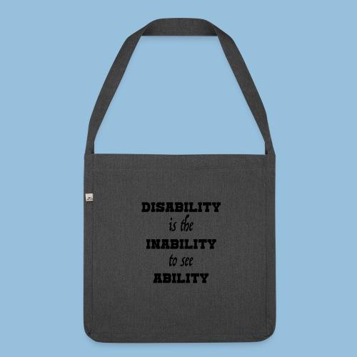 Ability4 - Schoudertas van gerecycled materiaal