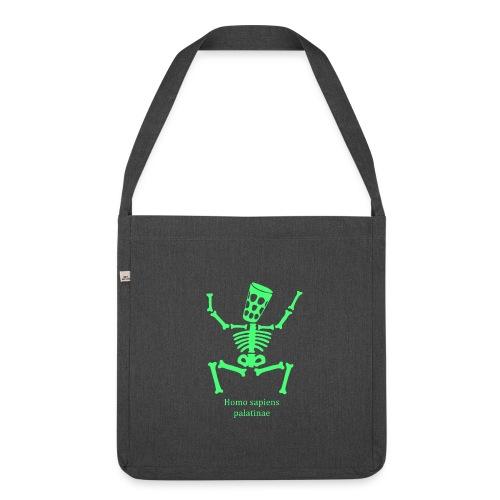 T Shirts Homo Palatinae Grün - Schultertasche aus Recycling-Material