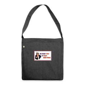 WeWantYou - Schultertasche aus Recycling-Material