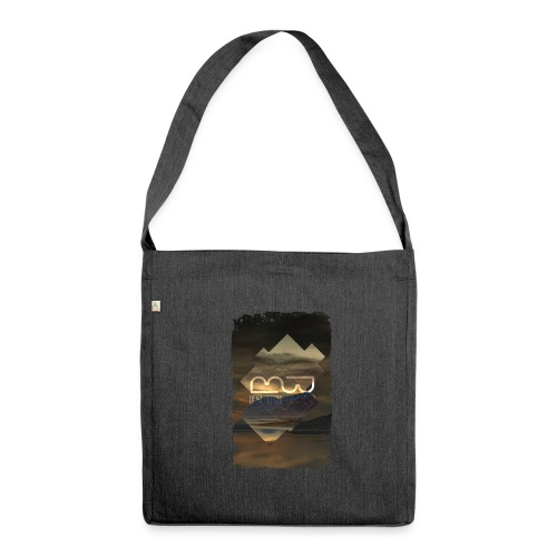 Men's shirt Album Art - Shoulder Bag made from recycled material