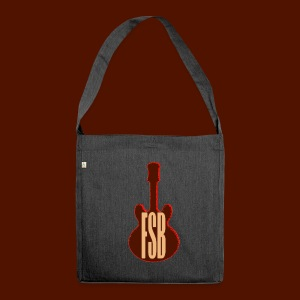 FSB Guitar Logo - Shoulder Bag made from recycled material
