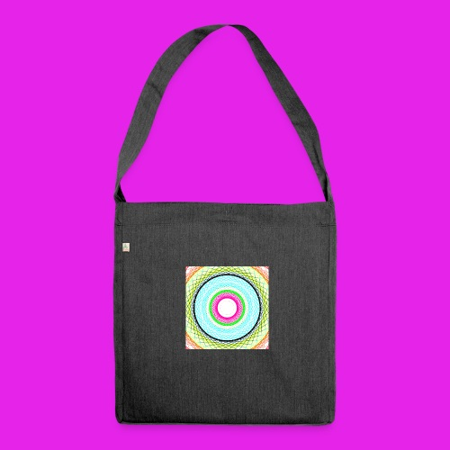 New - Schultertasche aus Recycling-Material