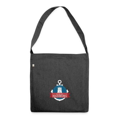 Made in Hamburg - Schultertasche aus Recycling-Material