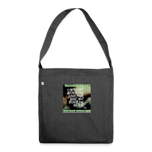 love your body - Shoulder Bag made from recycled material