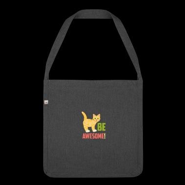Cats Lemmikit | Mahtavaa! - Olkalaukku kierrätysmateriaalista