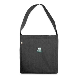 MeMigH | Merch Kollektion - Schultertasche aus Recycling-Material