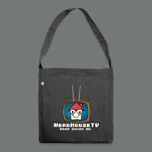 Nerdhouse - Schultertasche aus Recycling-Material