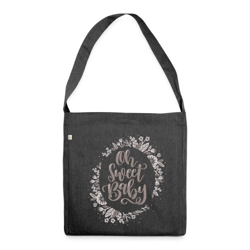 Oh Sweet Baby - Schultertasche aus Recycling-Material