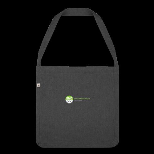 ElektroMobilitätsClub Logo - Schultertasche aus Recycling-Material