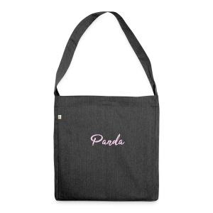 PandaPink - Shoulder Bag made from recycled material