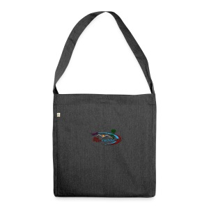 The Happy Wanderer Club Merchandise - Shoulder Bag made from recycled material
